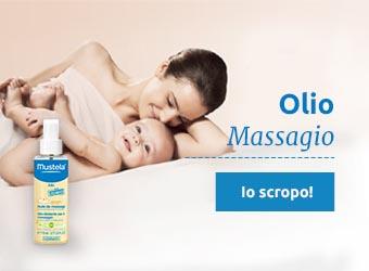 Mustela huile de massage bébé