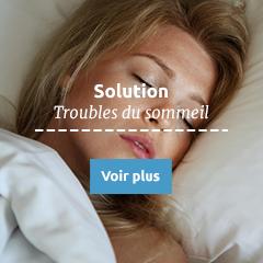 Trouble du Sommeil : Solutions