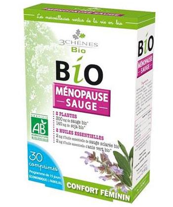 3 Chênes Bio Ménopause Sauge Confort Féminin