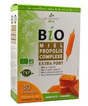3 Chênes Bio El propóleos Miel Complejo Extra Strength