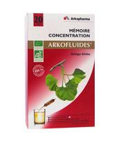 Arkofluides M�moire Concentration