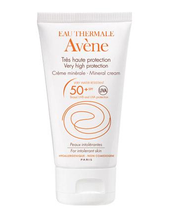 Avène Solaires Peaux Intolérantes Crème Minérale 50+