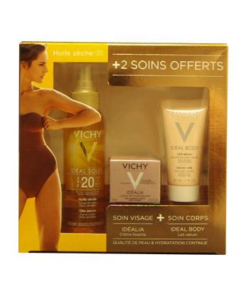 Vichy Ideal Soleil Coffret Huile s�che SPF 20