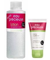 Eau Précieuse Offre Nomade : Lotion 100ml + Crème matifiante 50ml