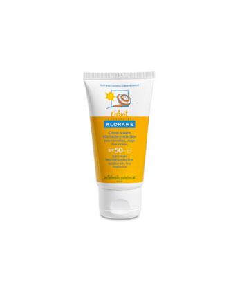Klorane Crème Solaire Très Haute Protection SPF50+