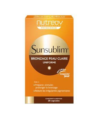 Nutreov Sunsublim Bronzage Peau Claire