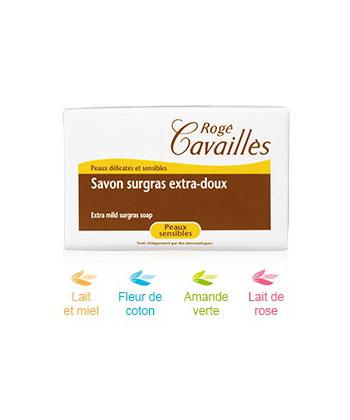 Rogé Cavaillès Jabón suave extra Leche Suave Rose