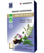 Arkofluides Transit intestinal