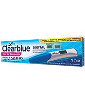 Clearblue Prueba de embarazo estimando Embarazo Edad