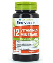 Floressance 12 Vitaminas y Minerales
