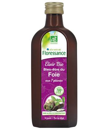 Floressance Elixir Bio Bien-être du Foie - Flacon 240ml