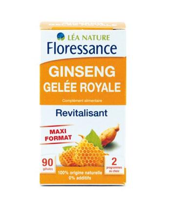 Floressance Revitalisant Ginseng et Gelée Royale