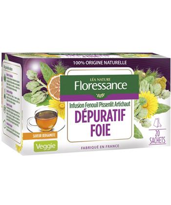 Floressance Infusion Dépuratif Foie - 20 sachets