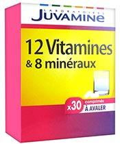 Juvamine 12 vitaminas y 8 minerales