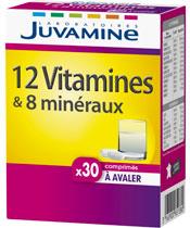 Juvamine 12 vitamine e 8 minerali