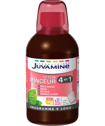 Juvamine Acción adelgazante 4 en 1