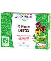 Juvamine 10 Pflanzen Bio Detox