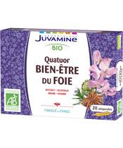 Juvamine Organic Quartet Wellness Leber