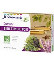 Juvamine Organic Quartet benessere del fegato