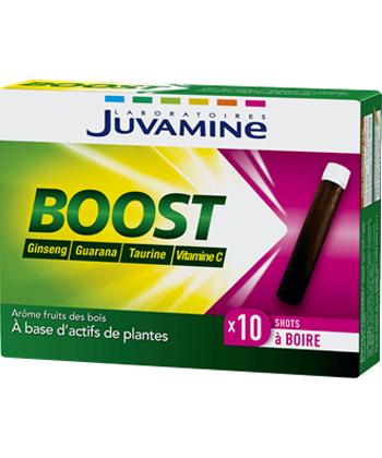 Juvamine Boost Ginseng, Guaranà, taurina e vitamina C