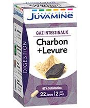 Juvamine Carbón + Levadura