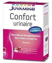 Juvamine la comodidad urinaria