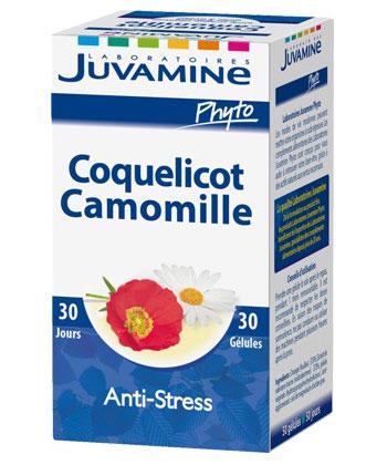 Juvamine Coquelicot Camomille