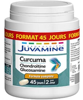 Juvamine Glucosamina alla condroitina alla curcuma