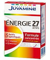 Juvamine 27 Activos Energía