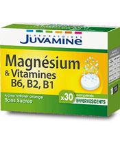 Juvamine Magnésium et Vitamines B6, B2, B1
