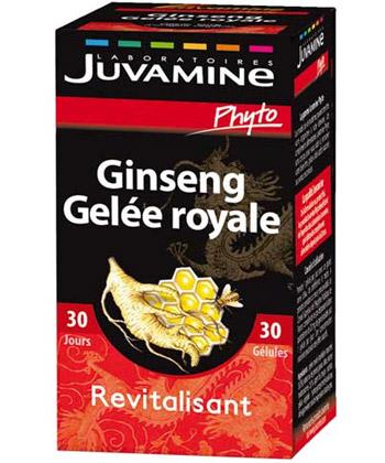 Juvamine Ginseng Gel�e Royale