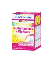 Juvamine Junior de multivitaminas y minerales