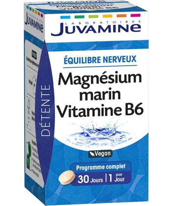 Juvamine Magnesio Marino + vitamina B6