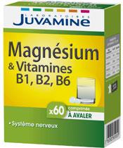 Juvamine Magnesium und Vitamin B1, B2, B6