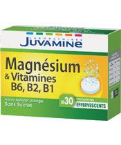 Juvamine Magnesium und Vitamin B6, B2, B1