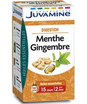 Juvamine Ginger menta-digestione