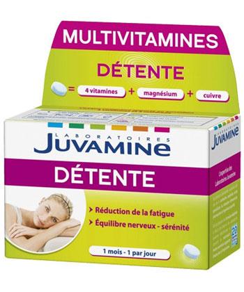 Juvamine Multivitamines Détente