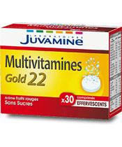 Juvamine Las multivitaminas Gold22