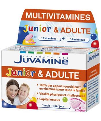 Juvamine Multivitamines Junior & Adulte