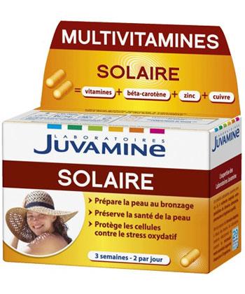 Juvamine Multivitamines Solaire