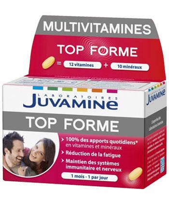 Juvamine Multivitamines Top Forme