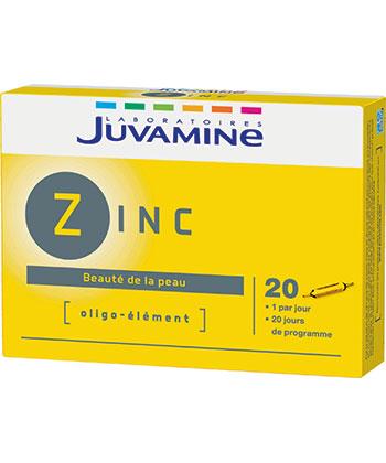 Juvamine Traza elemento de Zinc