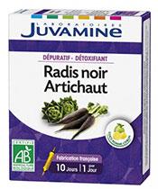 Juvamine Schwarzer Rettich und Artischocke
