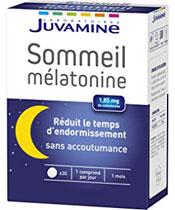 Juvamine La melatonina sueño
