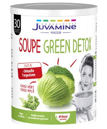 Juvamine Grüne Detox-Suppe