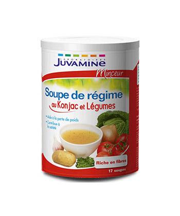 Juvamine Soupe de Régime au Konjac et Légumes