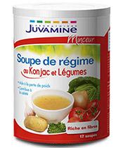 Juvamine Sopa de la dieta con Konjac y hortalizas
