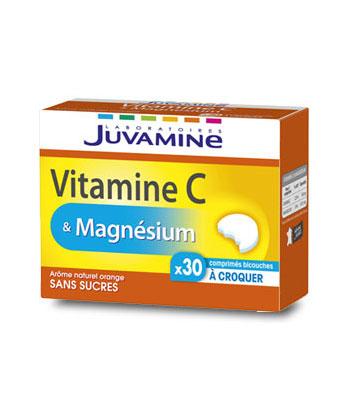 Juvamine Vitamin C und Magnesium