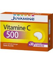 Juvamine Vitamina C 500 Sin Azúcares