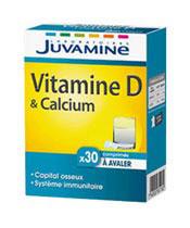 Juvamine La vitamina D y calcio